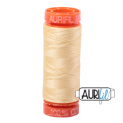 Aurifil 50 Cotton Thread - 2105 (Champagne)